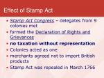 effect of stamp act