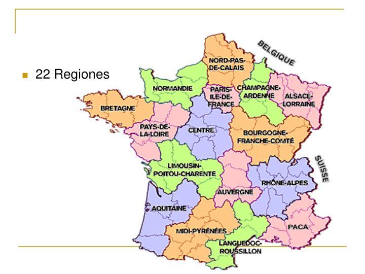 22 Regiones