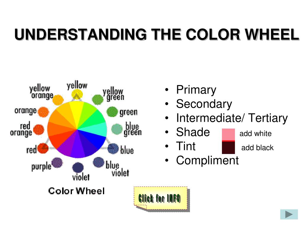 understanding the color wheel n.