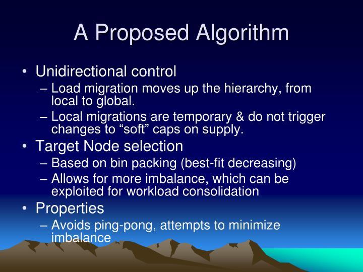 A Proposed Algorithm