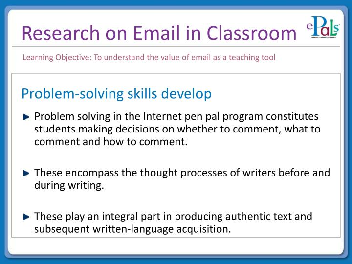 PPT - Value of Email as a Classroom Tool PowerPoint Presentation