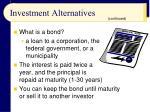 investment alternatives1