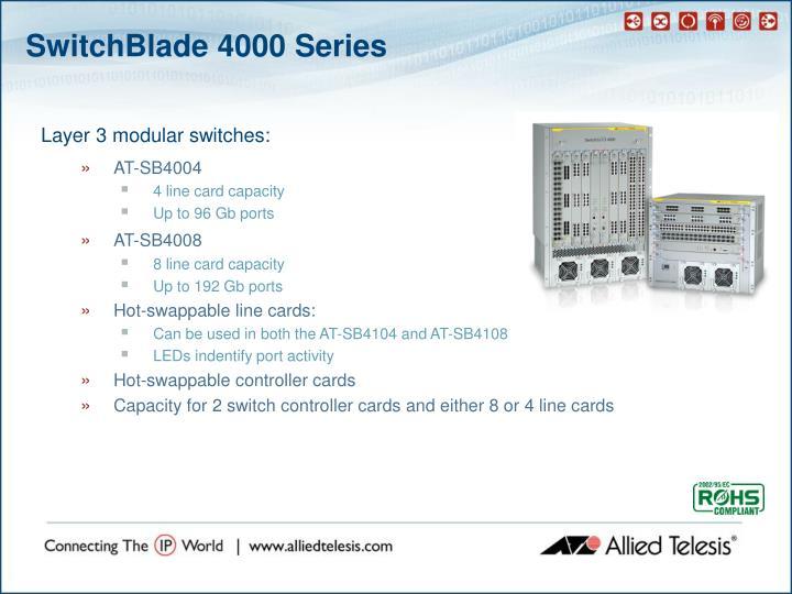 SwitchBlade 4000 Series