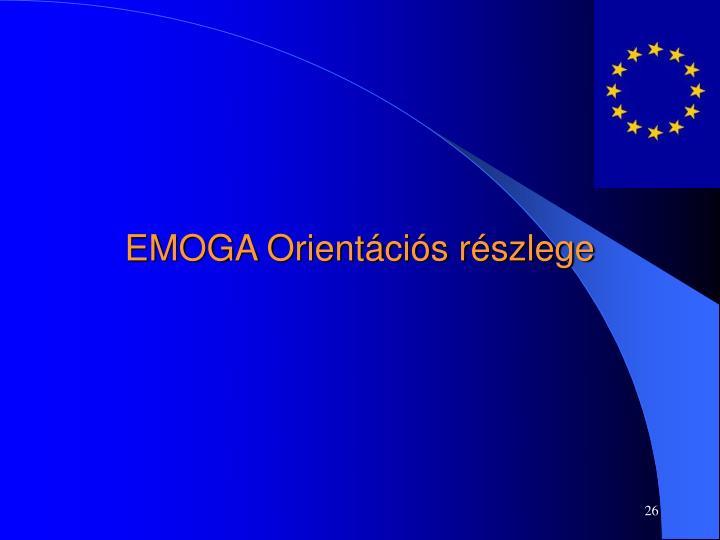 EMOGA Orientációs részlege