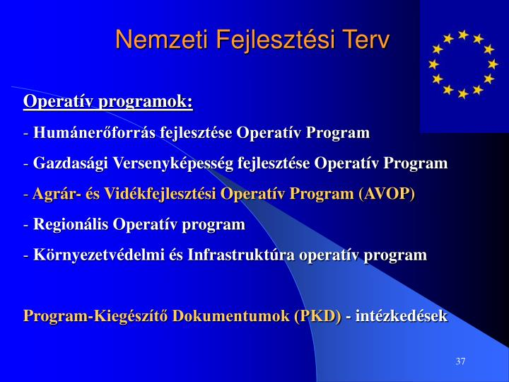 Nemzeti Fejlesztési Terv