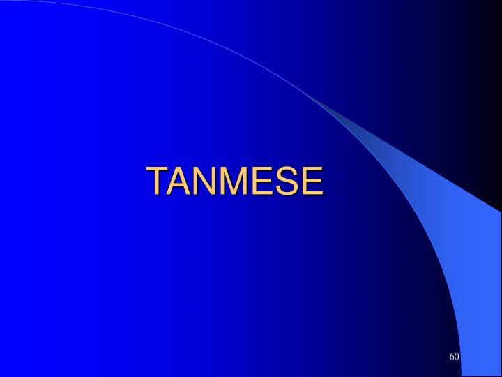 TANMESE
