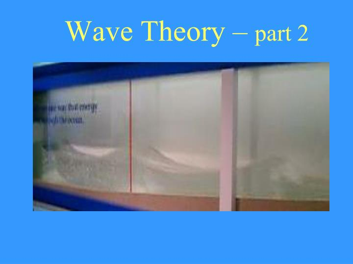 wave theory part 2 n.
