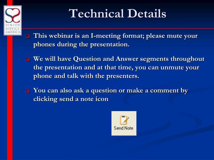 Technical details1