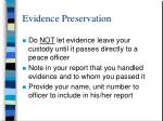 evidence preservation17