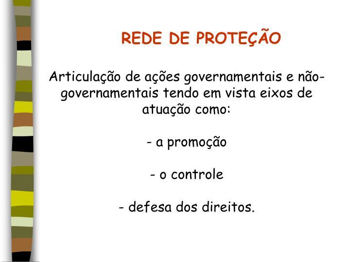 REDE DE PROTEÇÃO