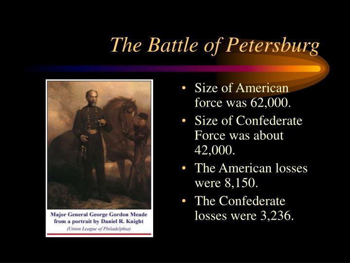 The Battle of Petersburg