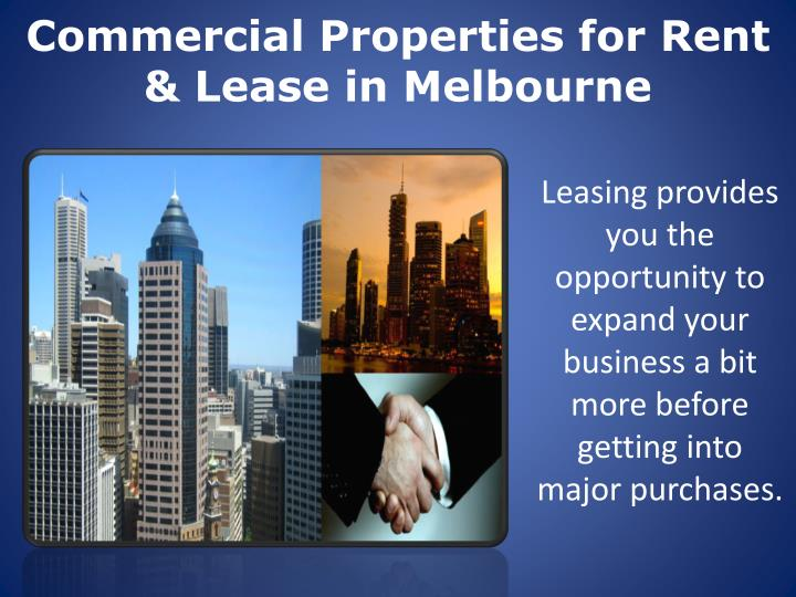 commercial properties for rent lease in melbourne n.