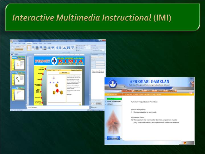 Interactive Multimedia Instructional