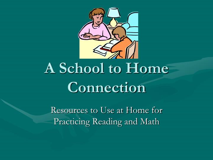 A school to home connection