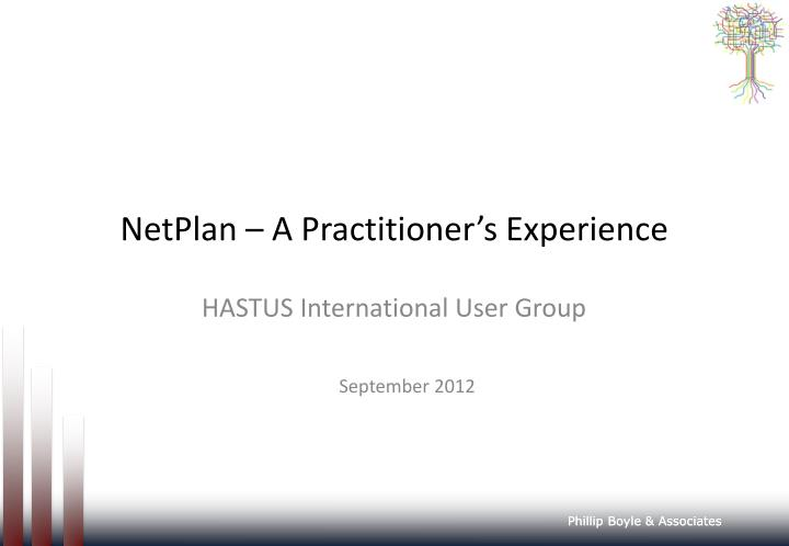 Netplan a practitioner s experience