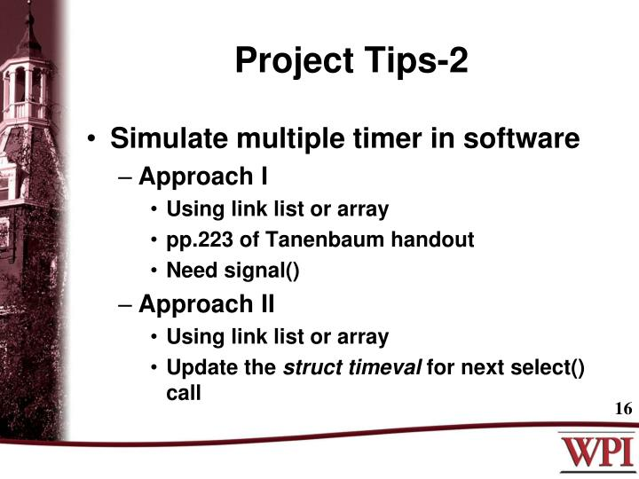 Project Tips-2