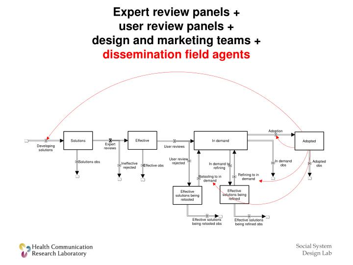 Expert review panels
