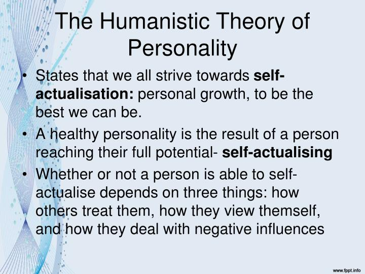 theories of personality essay example Free personality theories papers, essays, and research papers.