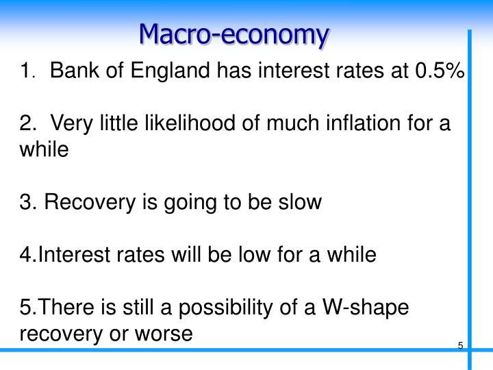 Macro-economy