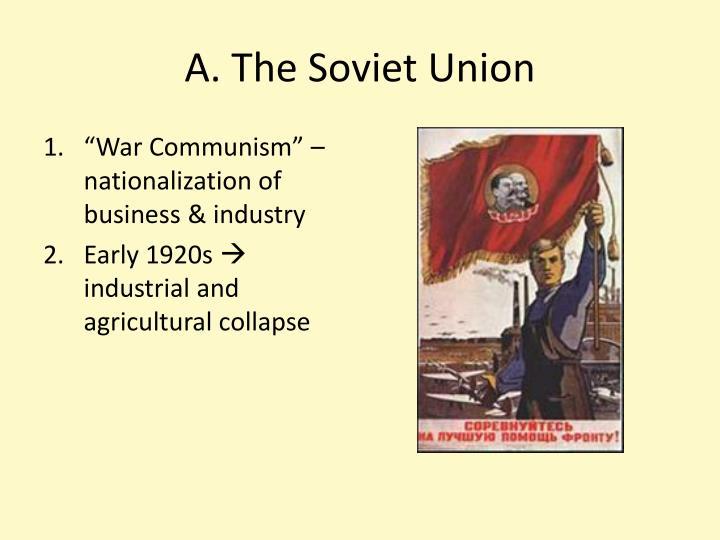 A the soviet union