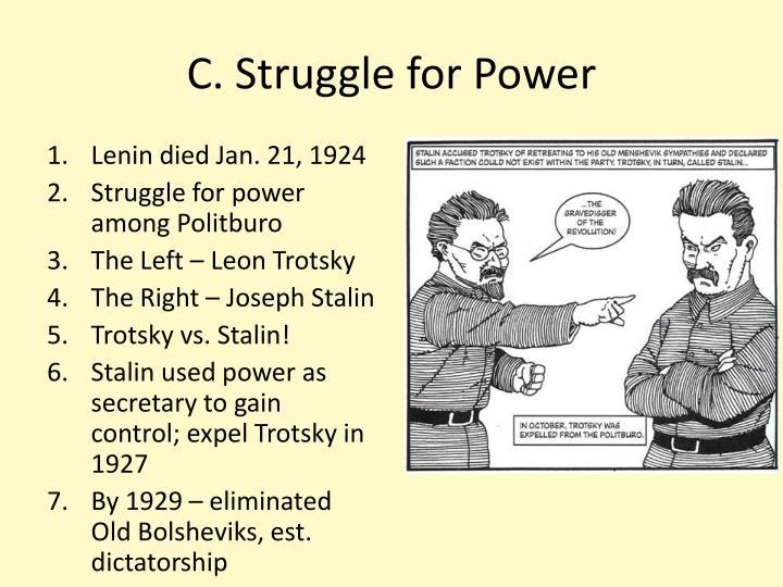 C. Struggle