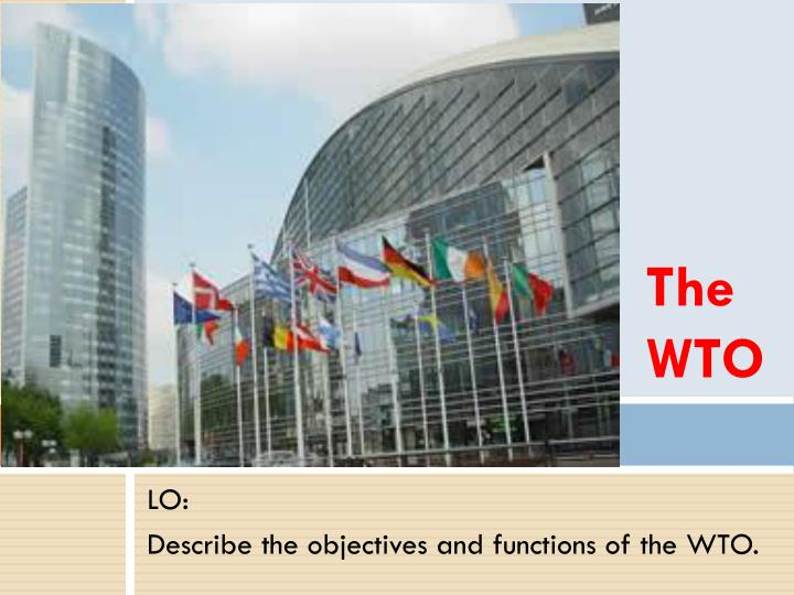 the wto n.