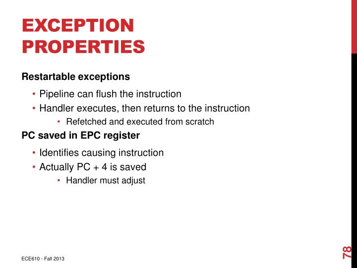 Exception Properties