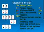 stopping in 5nt1