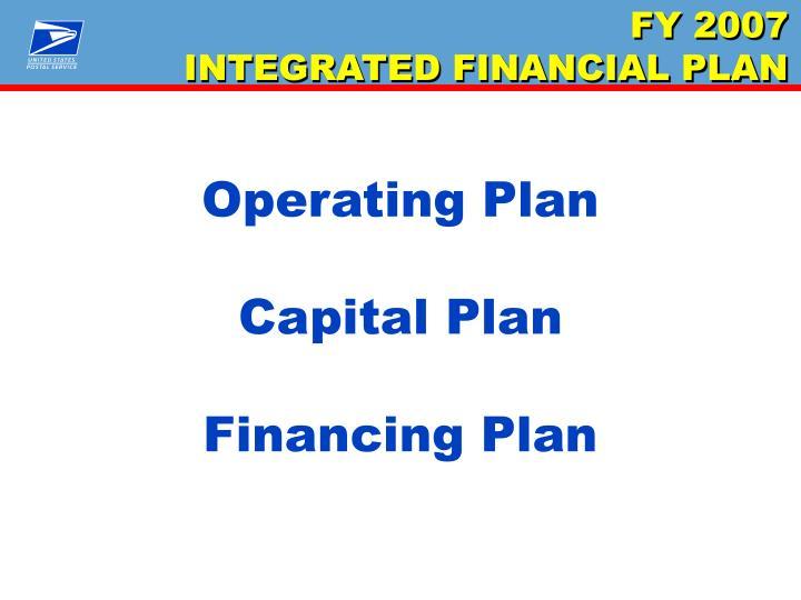 Operating Plan