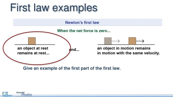 ppt newton s first law powerpoint presentation id 7106876