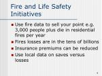 fire and life safety initiatives1