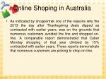 online shoping in australia