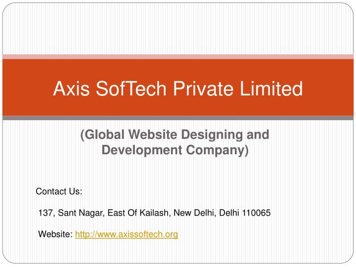 axis softech private limited n.