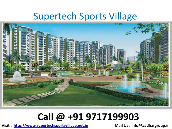 Supertech sports village1