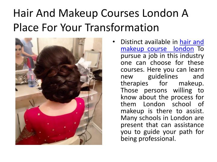 hair and makeup courses london a place for your transformation n.