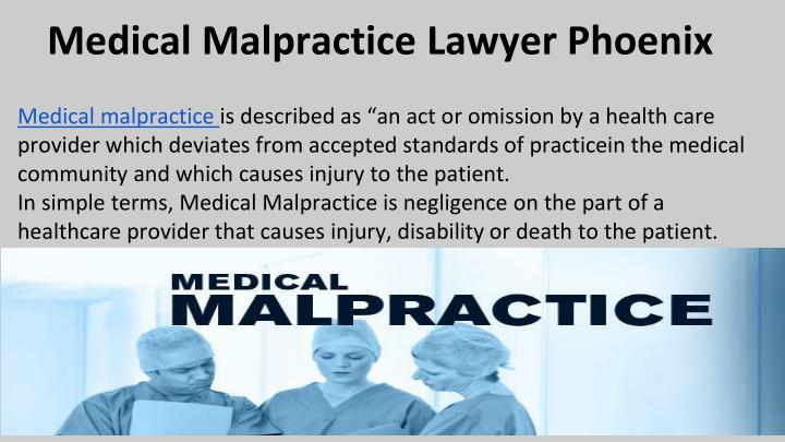 Medical Malpractice Lawyer Phoenix