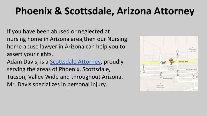 Phoenix & Scottsdale, Arizona Attorney