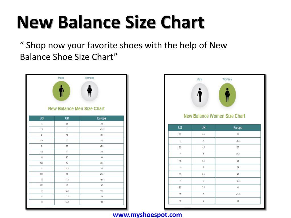 new balance uk us size chart Limit