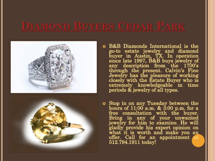 Diamond buyers cedar park