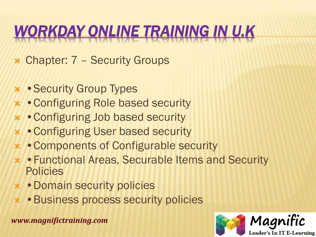 PPT - workday online training certifications kolkata PowerPoint