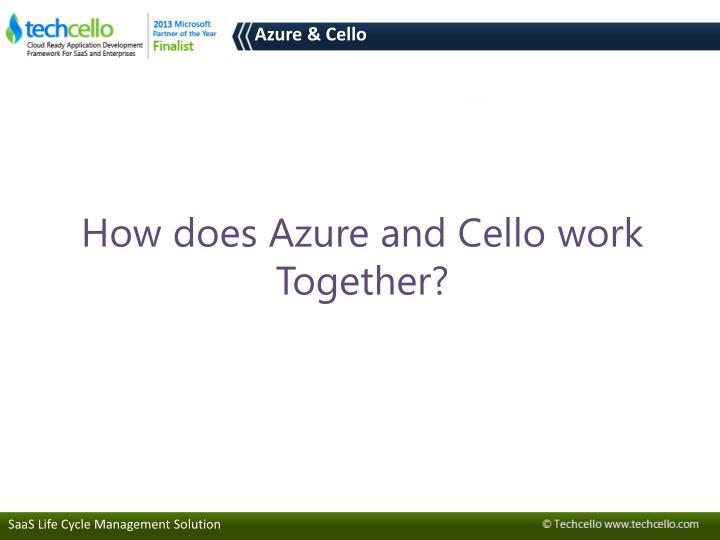 Azure & Cello