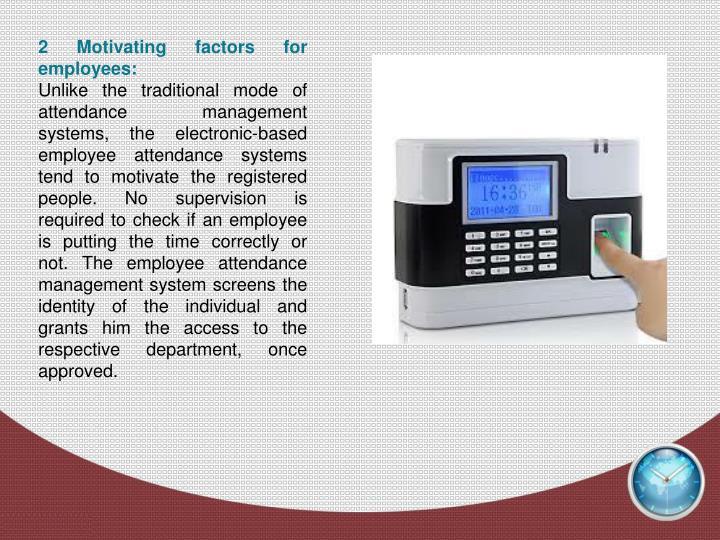 ppt employee attendance system powerpoint presentation id 7109319