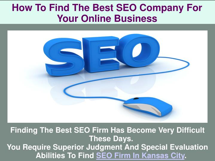 how to find the best seo company for your online business n.