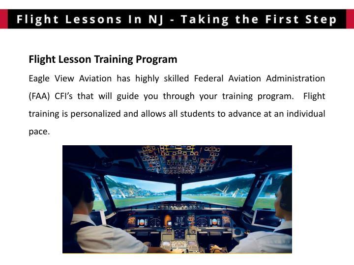 Flight Lesson Training
