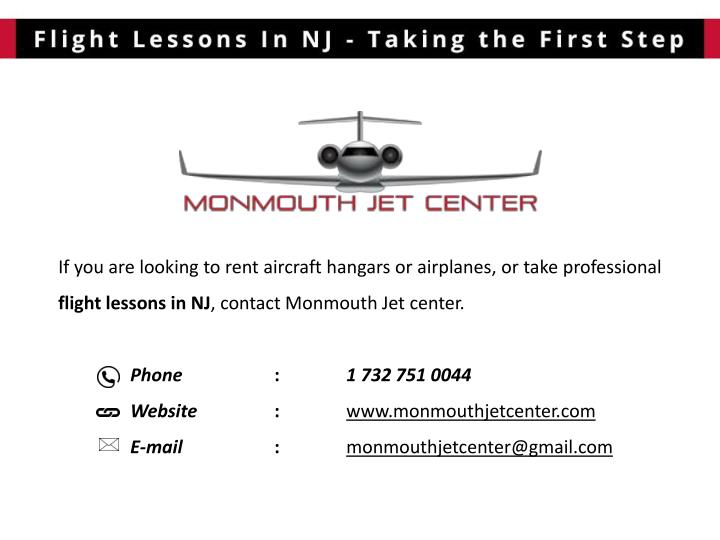 If you are looking to rent aircraft hangars or airplanes, or take professional