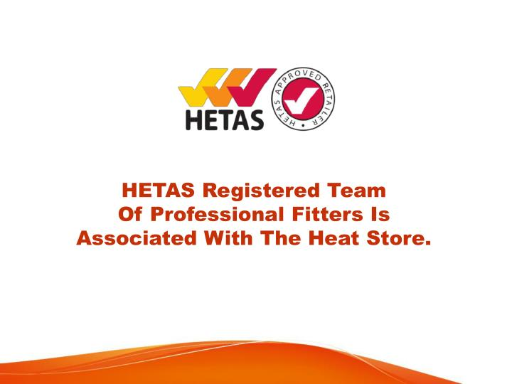HETAS Registered Team