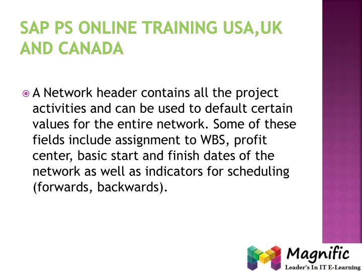 Sap ps online training USA,UK and Canada