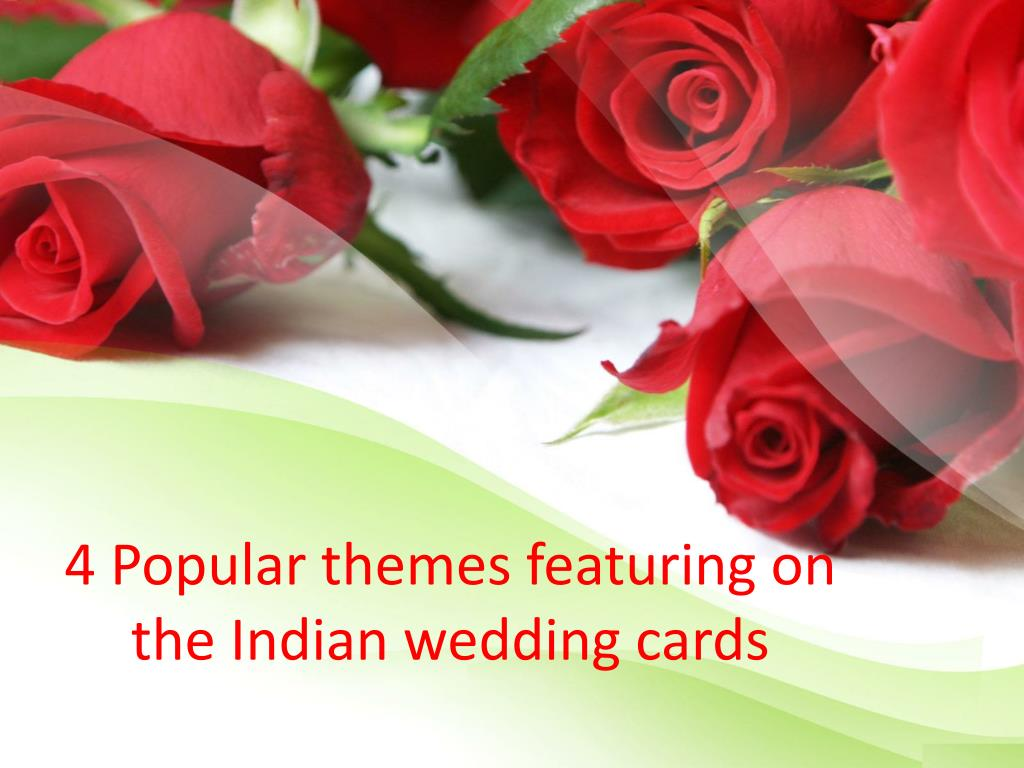 PPT - Wedding invitation cards PowerPoint Presentation - ID:7110862