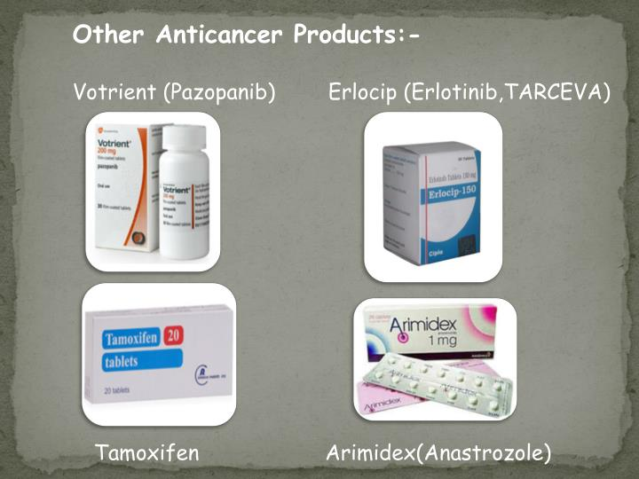 Other Anticancer Products:-