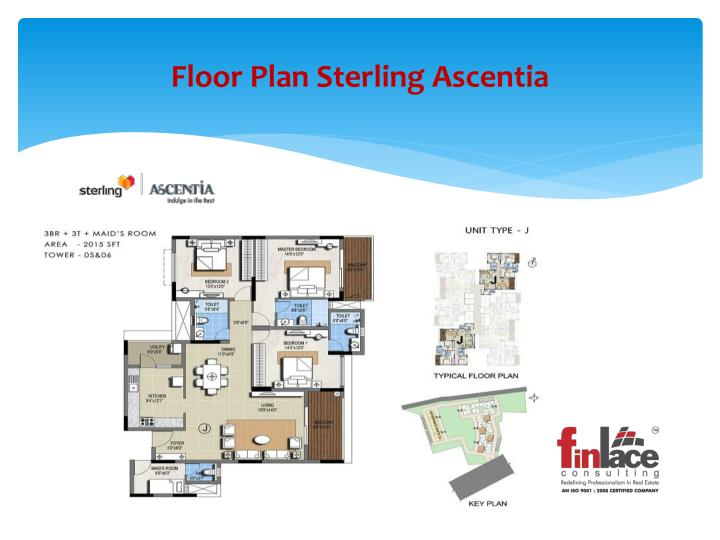 Ppt sterling ascentia 9019196393 upcoming project for Sterling plan